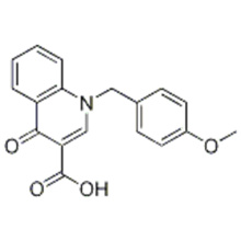 1- (4-METHOXYBENZYL) -4-OXO-1,4-DIHYDRO-3-CHINOLINECARBOXYLSÄURE CAS 338747-41-4