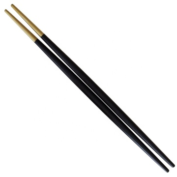 Wholesale Stainless steel pointed Colored Round Chopsticks