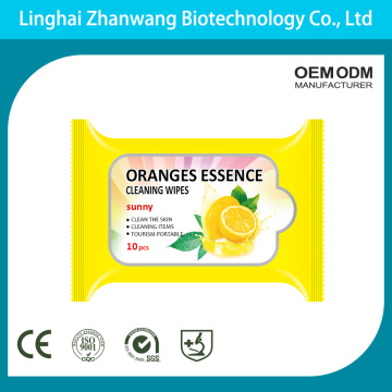 High Quality Hypoallergenic Face Cleansing Wipes