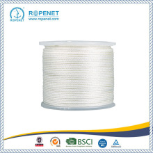 Strong Nylon Solid Braid Rope With White Color