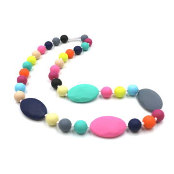 BPA Free Nursing Chewable Beads Necklace