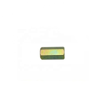 Long Hexagon Nuts Carbon Steel Yellow Zinc DIN6334