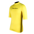Seaskin Men's Short Sleeve Surf Rash Guards
