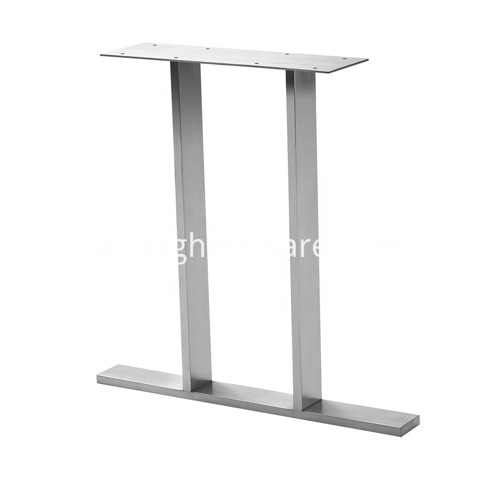 Stainless Steel Dinning Table Legs For Wood 2