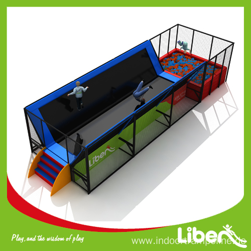 Inflatable trampoline rental with basketball