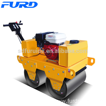 550kg Honda GX270 Small Double Drum Hand Vibratory Roller (FYL-S600)