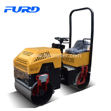 Compaction Equipment 1 Ton Double Drum Vibratory Roller