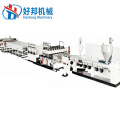 PC hollow honeycomb board production plant