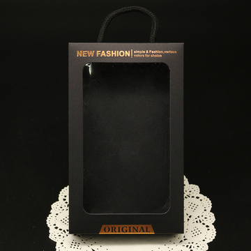Custom Cell Phone Case Box with PVC Window