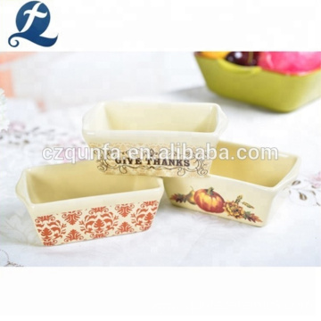 Dishwasher Safe Different Pattern Decoration Hotel Tableware