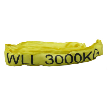 Round Shape 6,600Lbs Endless Lift Sling Polyester