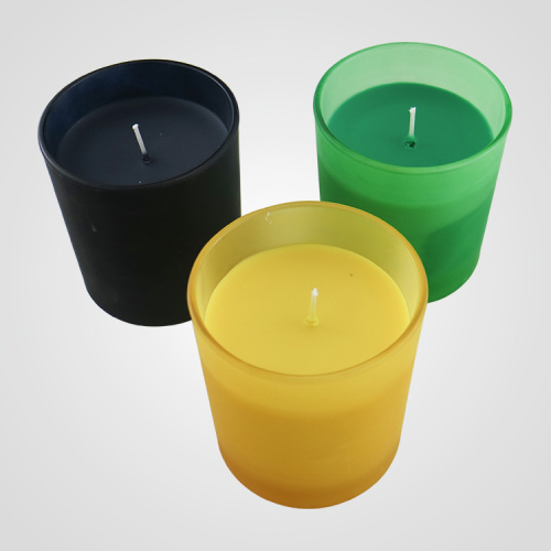 Massage Soy Wax Scented Glass Candle Factory