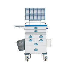 Tianao Anesthesia Trolley with Tilt Bin Organizers