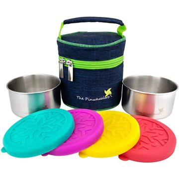 Reusable Leakproof Silicone Lids Lunch Containers Cap