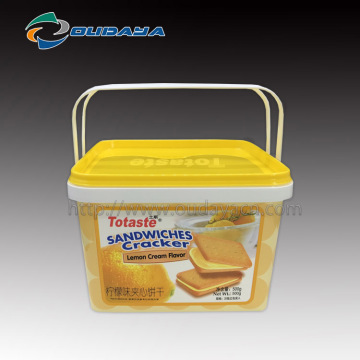 injection food container with printing