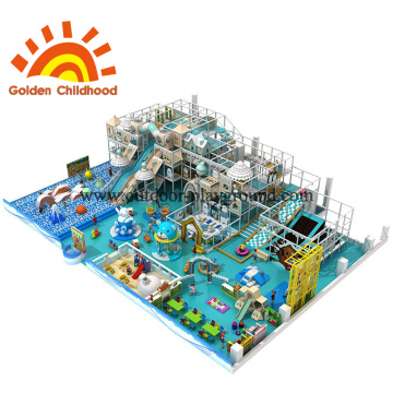 Ocean Style Indoor Playground Equipment For Children