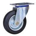 5 inch middle duty rubber wheel casters