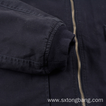 Custom Winter Thick Blue Men's Padded Jacket