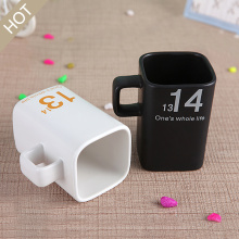 Ceramic Square Mouth Coffee Mug