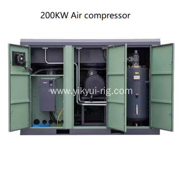 Low Noise 250KW borehole Air compressor