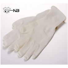 Disposable latex exam glove