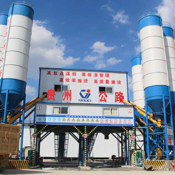 Electric 90m3/h ready mixed concrete batching plant
