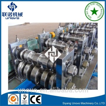 Highway guardrail roll forming machinery