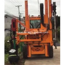 Highway Repair Tool Guardrail Pile Driver