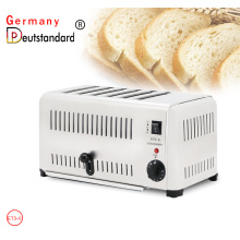 6 slice bread toaster machine with CE