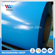 Sky blue prepainted galvanized steel coils to North Amerca