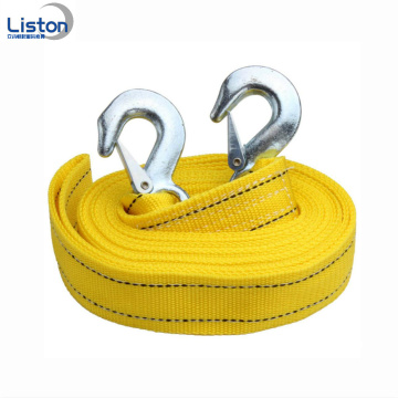Polyester Car Elastic Tow Rope Custom Tow Strap