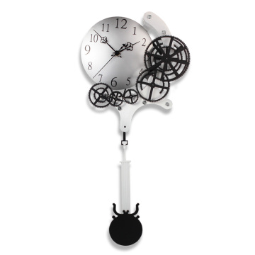 Olympic Pendulum Gear Wall Clock