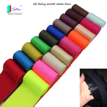 Pants Waist,Clothes Show Garment Decoration Sew Diy material Silky Elastic Band,Colorful Smooth Elastic Belt S0146L