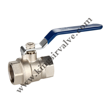 Nickel plated mpira valve