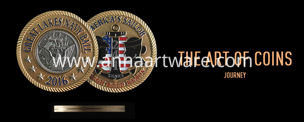 Anna Artwares Custom Metal Coin 01