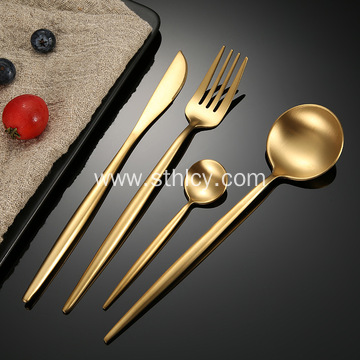 Stainless steel convenient cutlery set