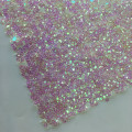 Special shape Rainbow Sequins Embroidery Fabric