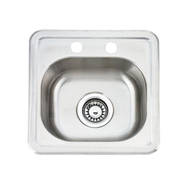 Topmount Single Bowl Kitchen Sink 3838A