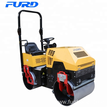 FYL880 1 Ton Double Smooth Drum Vibratory Roller Compactor