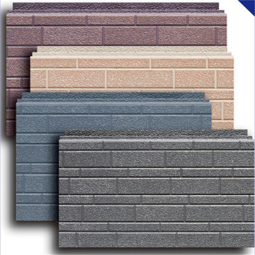 Metal insulation pu foam wall panel