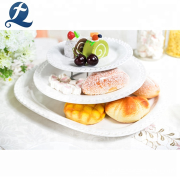 Wholesale cheap white ceramic restaurant custom sets dinnerware