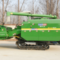 longitudinal axial flow threshing clean cutter rice