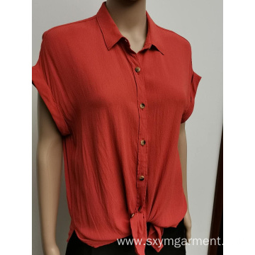 New design rayon blouse for ladies