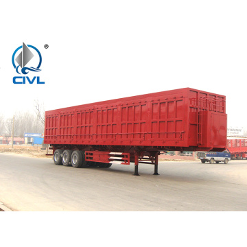 3 Axles 40T Side Dump Semi Trailers