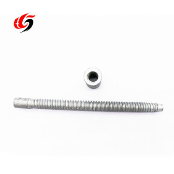 Customized Threaded Hollow Rod Internally Threaded Aluminum