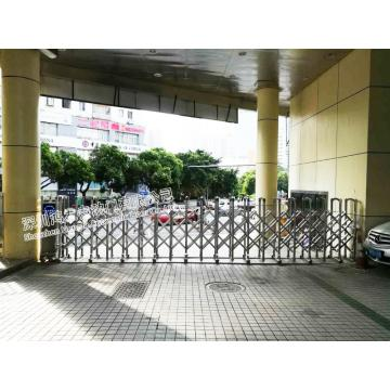 Industrial Trackless Electric Retractable Sliding Gate