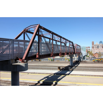 Factory Supply Prefab Structural Steel Pedestrian Bridge
