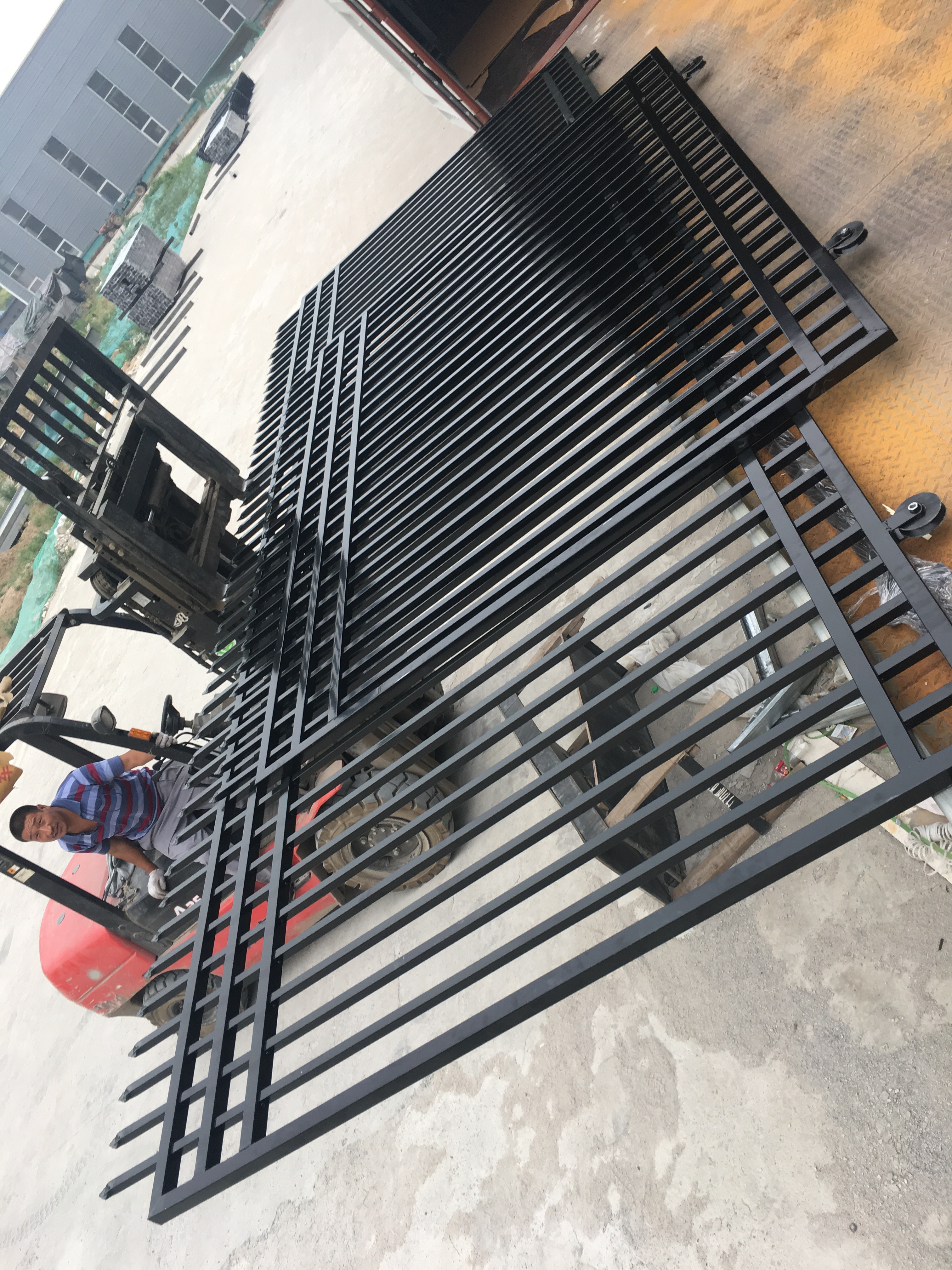 cheap wrought iron fence panels for sale 18