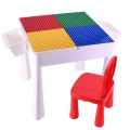 Activity Building Blocks Table and Chair Set