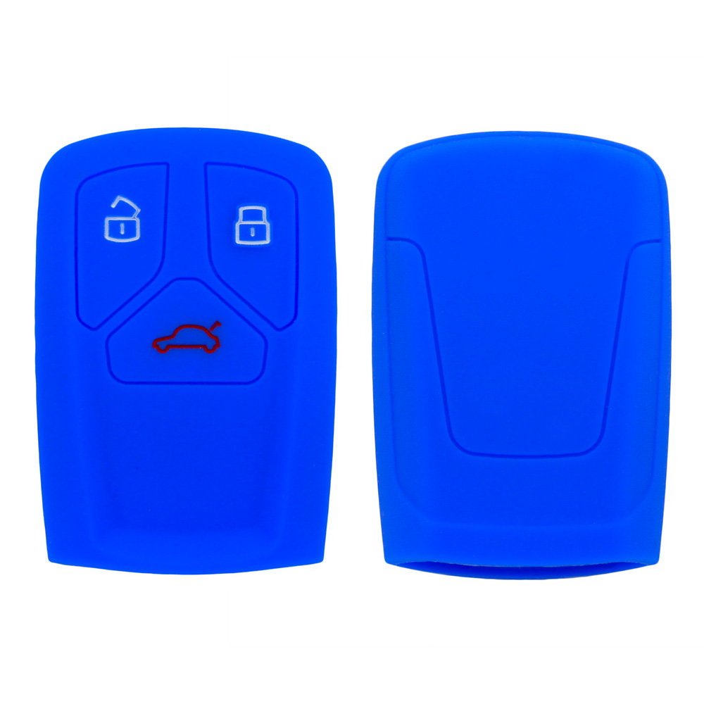 Rubber Audi car Key Case